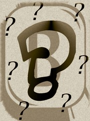 The Big BOOK SA Question Mark by BOOKphotoSA