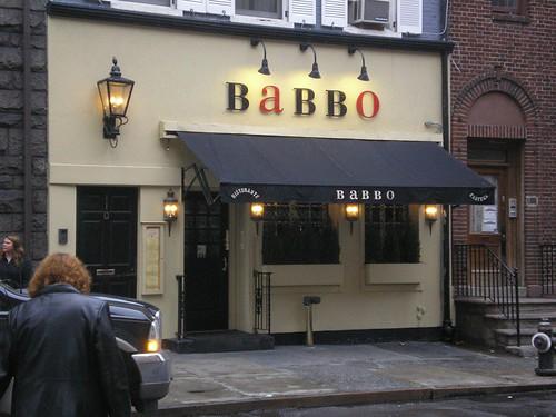Babbo front door