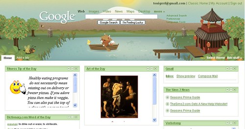 yey for google themes wifely steps