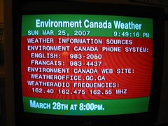 Weather Information Sources
