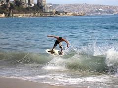 aereo (chileskimboard) Tags: dani diaz skimboard
