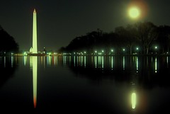 limitless........... (LaTur) Tags: moon reflection night dc washington luna moonrise dcist washingtonmonument georgewashington deity danbrown freemason robertlangdon amazingshots superbmasterpiece malakh we3dc fotoweek thelostsymbol thesolomonkey petersolomon katherinesolomon
