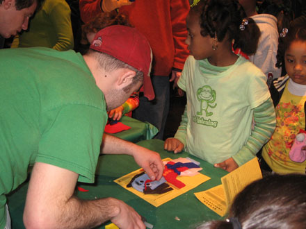 Children's Puppet Workshop at Wexner Center