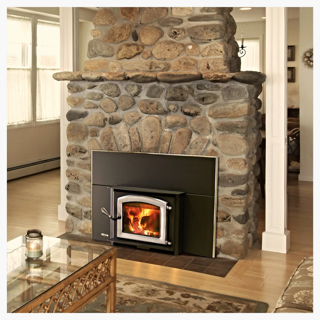 "The Aspen Insert is the perfect choice for improving the efficiency of your small fireplace.  At just over 18"" tall, the Aspen will fit in most of the smallest fireplaces.  The Aspen is approved for installation into both masonry and factory built (zero-c"