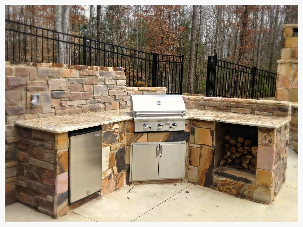 Custom AOG Outdoor Kitchen. Chattanooga, Tn.