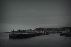 347.365.2016 (johnny the cow) Tags: harbour pier breakwater marina castle warmemorial stormy winter weather ceredigion wales cymru aberystwyth 365 366 2016 catalogue collection diary photo aphotoaday