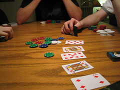 Texas Hold'Em (amanky) Tags: usa alaska oregon diamonds hearts jack cards heart jonathan 4 aaron 8 9 2006 chips diamond poker card christmasparty taylor chip miles griffin texasholdem hoodriver playingcard playingcards adayinthelifeof dilo pokerchips december22 onthetable pokerchip vandebruggen 9ofhearts jackofhearts jackofdiamonds december2006 cardsonthetable dilodec06 december222006 8ofhearts 4ofdiamonds msh0507 msh05076 flickr:user=rinkidink1027