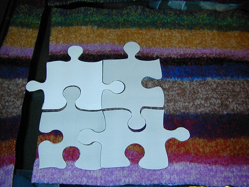 Jigsaw Puzzle - start cutting!