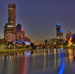 Melbourne City by the Yarra