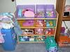 Ruthie's toys -- organized!