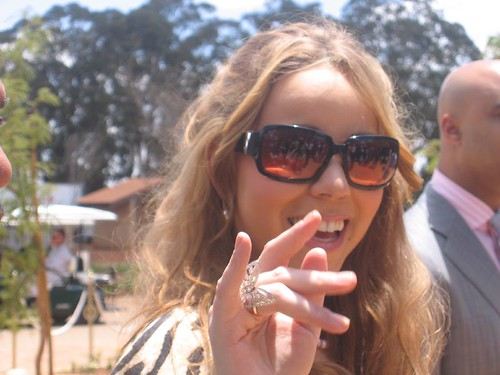 Sexy Pop Star Mariah Carey in South Africa