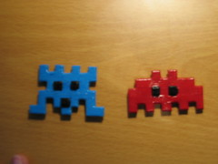 Imanes space invaders
