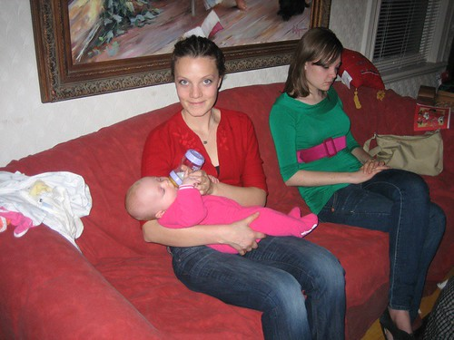 Ada with Aunt Melissa