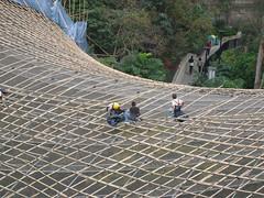 Bamboo Scaffolding (WrldVoyagr) Tags: hk hongkong scaffolding capital bamboo
