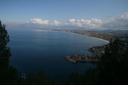Sicily - View near Castellammare del Golfo
