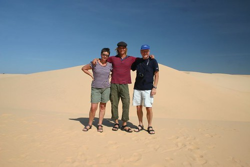 The trio at the sand dunes...