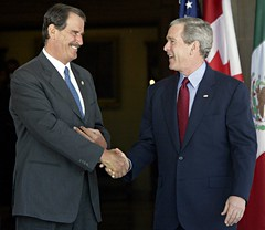 Bush and Fox