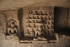 24 Jinas- Parshvanath (rmaple_leaf) Tags: india statue statues jain ellora jains jainism jinas mahavir newyears2007 parshvanath 24jinas 200701011929jpg