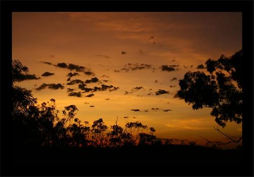 Sunset in Katherine