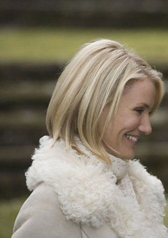 cameron diaz short haircut. cameron diaz hair short