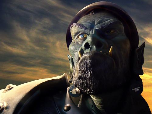 Warcraft 3-Ork by digikuva