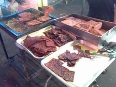 Grilling Bak Kwa
