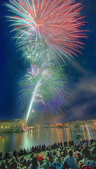Fireworks (DARREN ST0NE) Tags: light favorite canada color slr 20d angel photoshop canon lens macintosh landscape eos interesting mac aperture bc fireworks britishcolumbia quality canon20d explorer crowd wide wideangle super victoria sharp explore shutter photoshopcs brilliant 1022mm hdr papercut eos20d photomatix photomechanic explored hdrsingleraw darrenstone lightgazer
