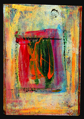 Oil On Wood (ramonapaints) Tags: wood carnival flowers blue red white abstract black green art colors collage modern silver painting gold grey design paint acrylic purple teal pastel gray jackson canvas picasso brushes oil expressionism impressionism pollack pollock miro cubist paints klee paining cubism tempra subism ramonapaint ramonapaints