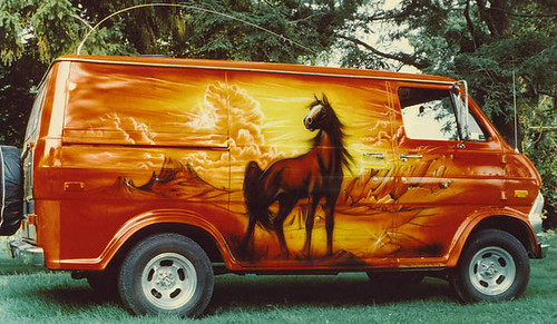 Custom Vans Of The 70s Van Camper Suv Seats
