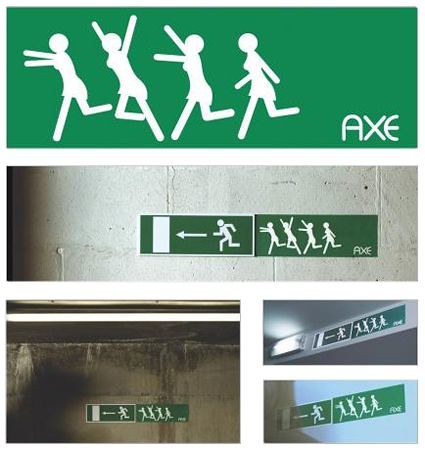 Guerilla marketing selon Axe (1/2)