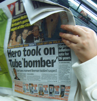 Hero took on Tube Bomber