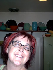 My very first Flickr - when I had good hair (.Hollie.) Tags: california bauer pottery bauerpottery