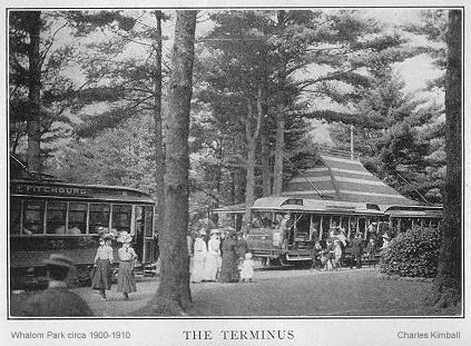 The Terminus at Whalom (Circa 1910)