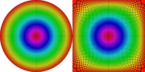 Conformal Transformation: from Circle to Square | Flickr - Photo ...