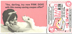 """Yes, darling..."" (bayswater97) Tags: vintage magazine soap dove retro 1960s 1962 coupon centsoff"