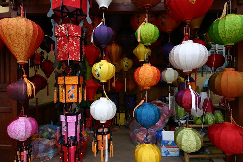 Lanterns in Hoi An.