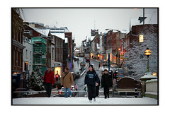 Guildford High street (Nicoze) Tags: street england people snow surrey nicolas guildford masse nicoze