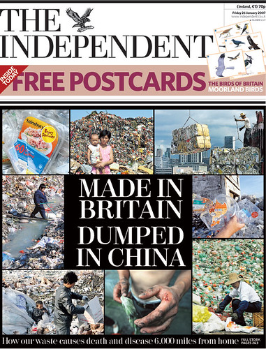 INDEPENDENT-CHINA DUMP