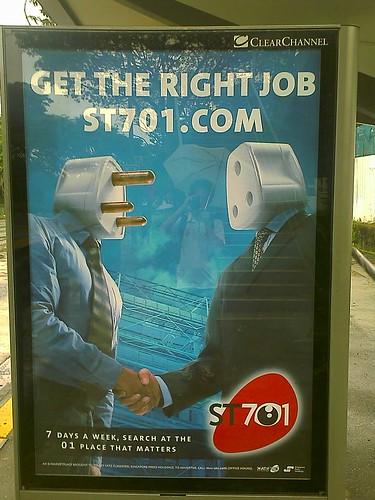 Disturbing ad