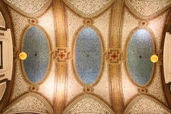 Tiffany Dome (sleepyibis) Tags: roof chicago building decoration dome decor tiffany marshallfields