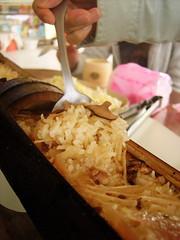 竹香四逸的竹筒飯