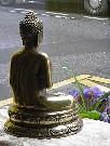 La bouddha et la rue Condorcet, à Paris.e   moyen