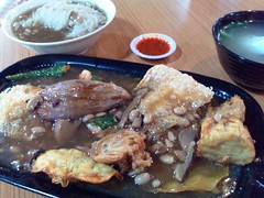 Ampang-style yong tau foo