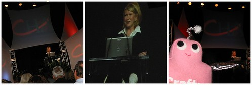 Martha Stewart at CHA!