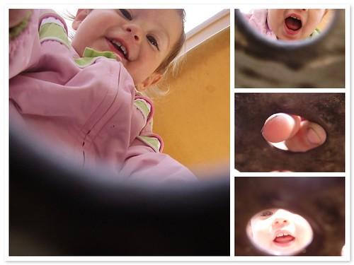 Anya at the playground
