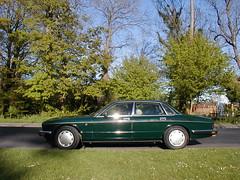 P1010028 (saabfan) Tags: park green sport racing eastbourne british 1991 jaguar hampden xj xj6 6cyl xj40 6cylinder 200hp 200bhp