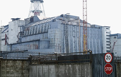 Chernobyl, Reactor 4 (NiccollsDP) Tags: accident radiation ukraine sarcophagus powerplant meltdown sovietunion fallout chernobyl nucleardisaster reactor4 paulniccolls