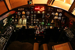 Metroliner Cockpit (dbcnwa) Tags: night plane canon airplane lights flying airport colorado panel metro aircraft aviation cockpit controls coloradosprings instruments flugzeug switches cos fairchild avion turboprop keylime swearingen aeronautical metroliner aeroplano lym canon15mmfisheye sa227 metroiii coloradospringsairport keylimeair kcos sa227ac