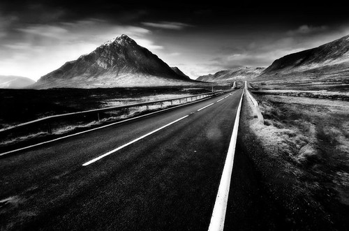 road and mountain bw par mike138