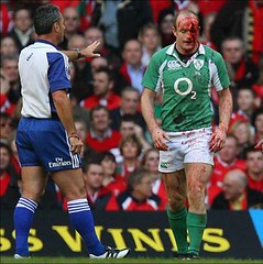 Dennis Hickey, Wales vs Ireland 2007